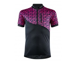 Tröja Craft Bike Junior Jersey svart/rosa