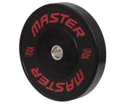 Viktskiva Bumper Master Fitness Hg Bumpers 25 KG