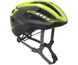 Cykelhjälm Scott Centric PLUS MIPS gul/grå