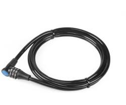 Vajerlås XLC LO-L13 8 x 1800 mm svart
