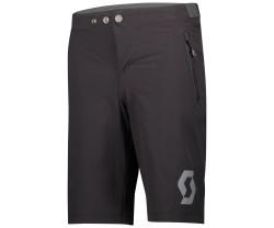 Baggy Shorts Scott Trail 10 With Pad Junior Svart