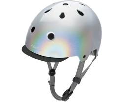 Cykelhjälm Electra Holographic silver