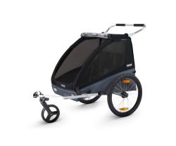 Cykelvagn Thule Coaster XT 2 barn - Black