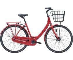 Damcykel Red Winther 4 7-växlad röd