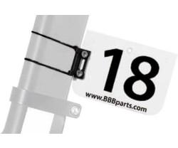 Nummerskyltshållare BBB Aeronumberfix