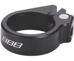 Sadelstolpsklamma BBB Karbonstrangler 28.6 mm svart