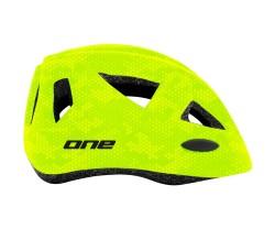 Hjälm One Racer neongrön