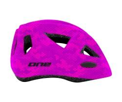 Hjälm One Racer rosa