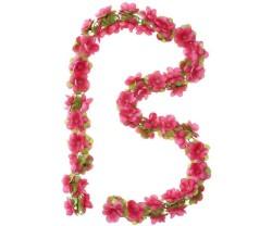 Girlang Basil Flower Garland 130 cm röd/Rosor
