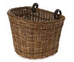 Cykelkorg Basil Darcy L fram brun