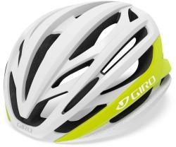 Cykelhjälm Giro Syntax MIPS vit/gul