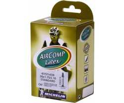 "Slang Michelin Aircomp Latex C4 47/57-559 (26 x 1.9-2.2"") racerventil 42 mm"
