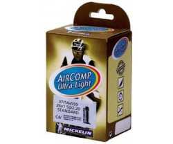 "Slang Michelin Aircomp Ultralight C4 37/54-559 (26 x 1.5-2.1"") racerventil 40 mm"