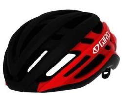 Cykelhjälm Giro Agilis MIPS svart/röd