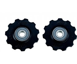 Rulltrissor BBB Rollerboys Ceramic 11T svart 1 par