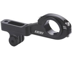 Styrfäste BBB Cameramount Gopro-Kompatibelt svart