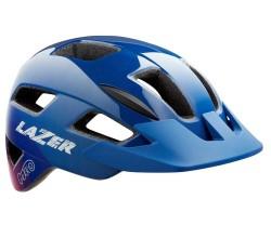 Cykelhjälm Lazer Gekko blå/rosa