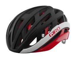 Cykelhjälm Giro Helios Spherical Mips svart/röd