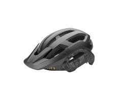 Cykelhjälm Giro Manifest Spherical Mips svart/grå