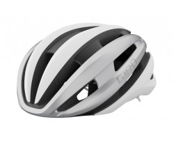 Cykelhjälm Giro Synthe Mips II vit/silver