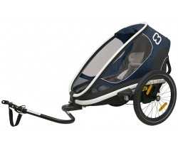 Cykelvagn Hamax Outback One 1 barn navy