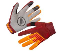 Handskar Endura SingleTrack orange/röd
