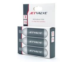 Kolsyrepatron Weldtite Jetvalve 10 st 3 pack 25 gram