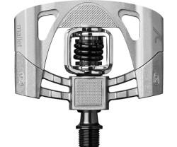 Pedaler Crankbrothers Mallet 2 grå/silver inkl. pedalklossar