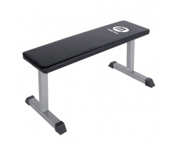 Träningsbänk Master Fitness Flat Bench Silver