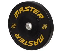 Viktskiva Bumper Master Fitness Hg Bumpers 10 KG