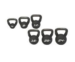Kettlebell Master Fitness Neoprenklädd 4 KG