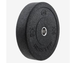 Viktskiva Bumper Master Fitness Hi Impact Bumper 25 KG