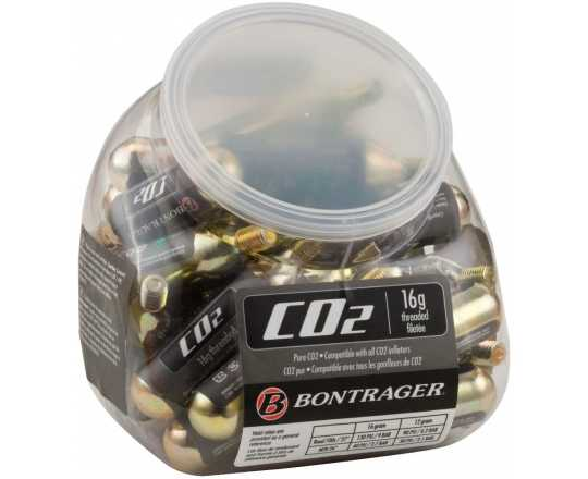 Kolsyrepatron Bontrager Co2-patron gängad 16 gram