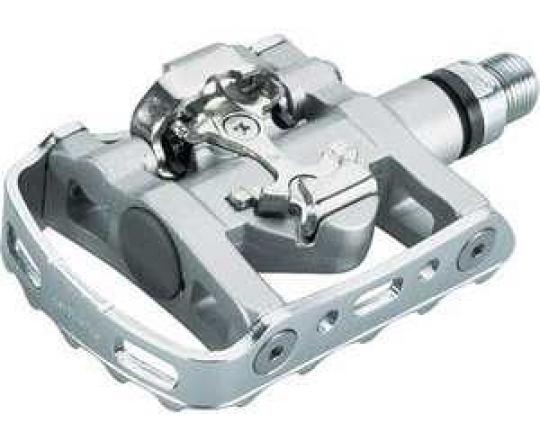 Pedaler Shimano PD-M324 SPD/standard inkl. pedalklossar